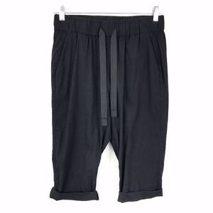 Theory Black Capri, Style:Toro W, Elastic Waist, M